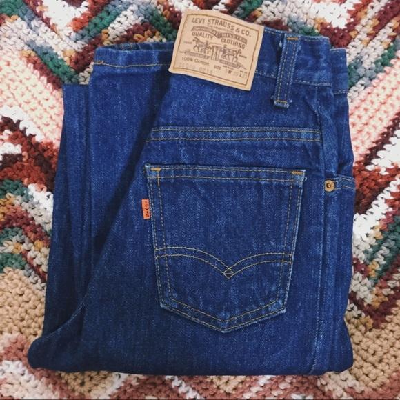 534b7593ac2 Levi's Jeans | Vtg Orange Tab 70s Levis High Waisted | Poshmark